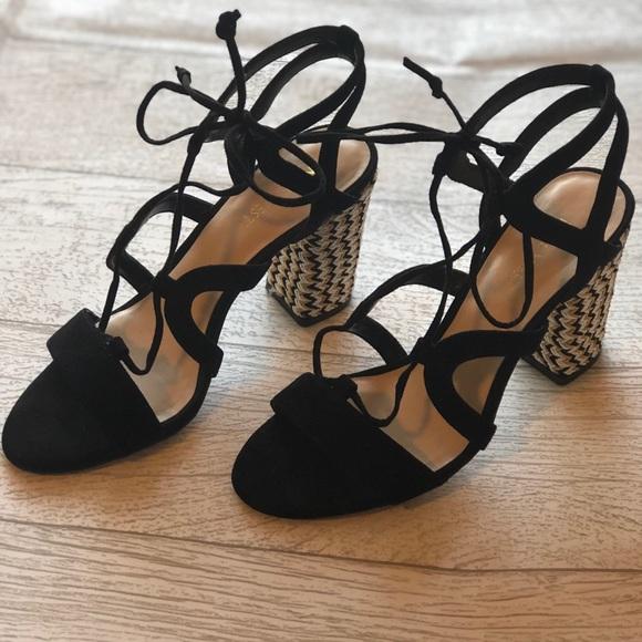 0ee47a59b5e Nine West Women s Bizzy Suede Dress Sandal. M 5aaaeb093afbbd2aca137b9e
